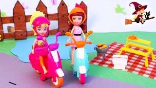 Juguetes de Polly Pocket | Polly y Kerstie Van de Picnic