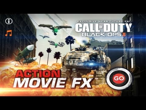Call Of Duty Black Ops 2  Action Movie FX iPhone app