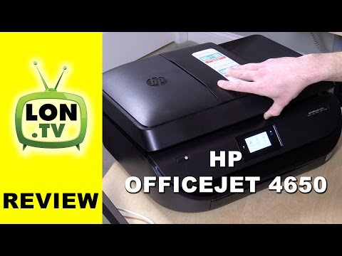 Hp Officejet 4650 All-in-one Inkjet Printer And Instant