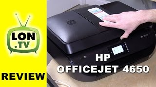 HP Officejet 4650 All-in-One Inkjet Printer and Instant Ink Review