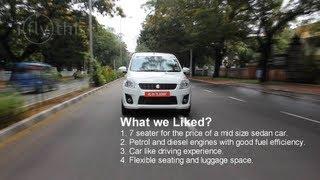 2012 Maruti Suzuki Ertiga video review by iflythis team