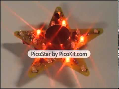 PicoStar Musical Christmas Star on Sale