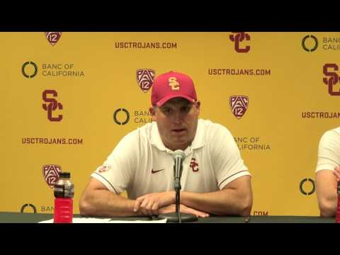 USC Football - Post-Game Presser after ASU