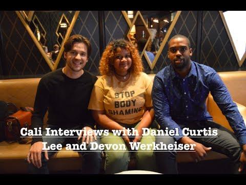 Cali s with Devon Werkeiser and Daniel Curtis Lee