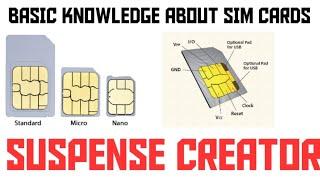 Basic Knowledge About SIM Card    Suspense Creator
