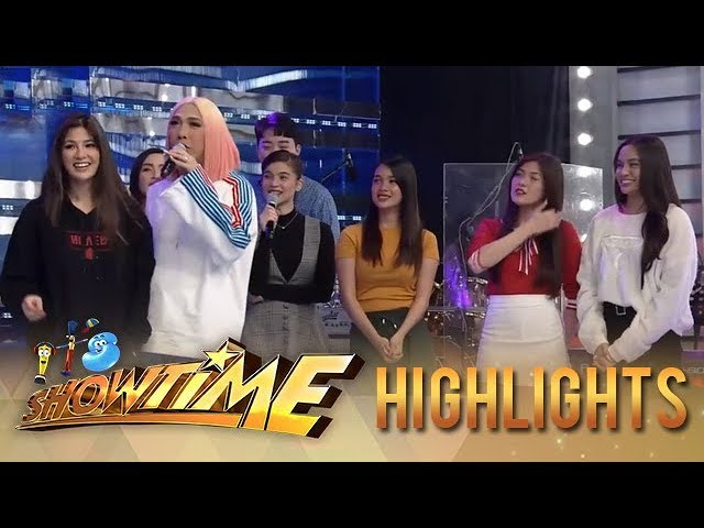 It's Showtime: Vice Ganda states each of the Girltrends' name