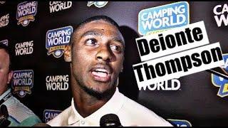 Alabama Crimson Tide Football: Deionte  Thompson talks win over Louisville