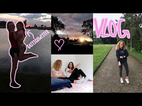 Vlog  Gastschwester Brigadeiro joggen ♥︎ Auslandsjahr BRASILIEN 201819 ♥︎ Leonie4ever
