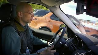 Сергей Асланян на Jaguar Land Rover Experience