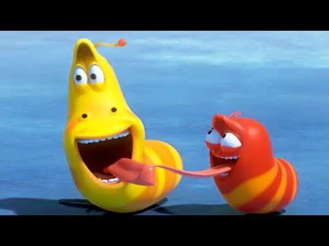 LARVA - DANCING ON ICE   Cartoon Movie   Cartoons For Children   Larva Cartoon   LARVA Official