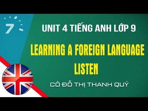 Unit 4: Listen trang 35 SGK Tiếng Anh lớp 9|HỌC247