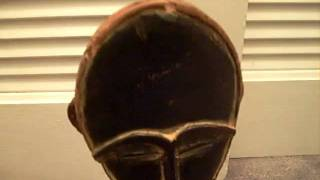 Hand Carved Wood Statue From Africa