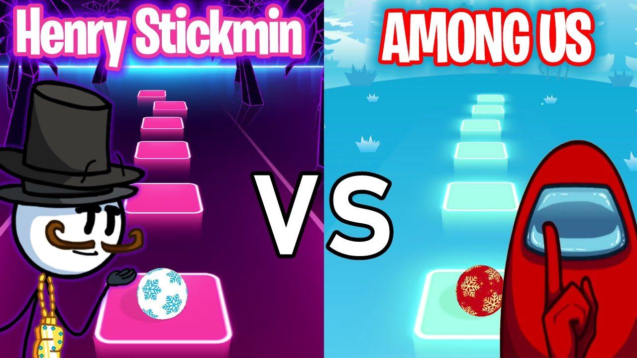 Download Henry Stickmin VS Among US - Tiles Hop EDM RUSH! TRZ