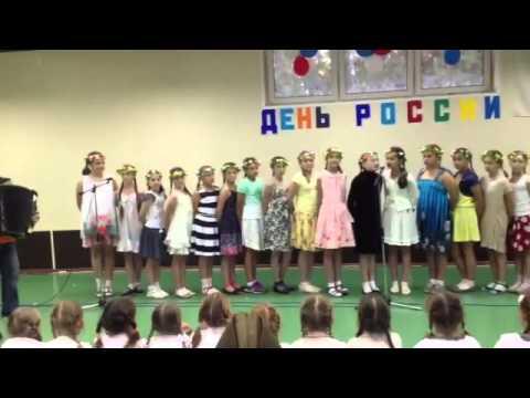 Песня девочек 2005 г.р. Тринта. Олимпийские надежды
