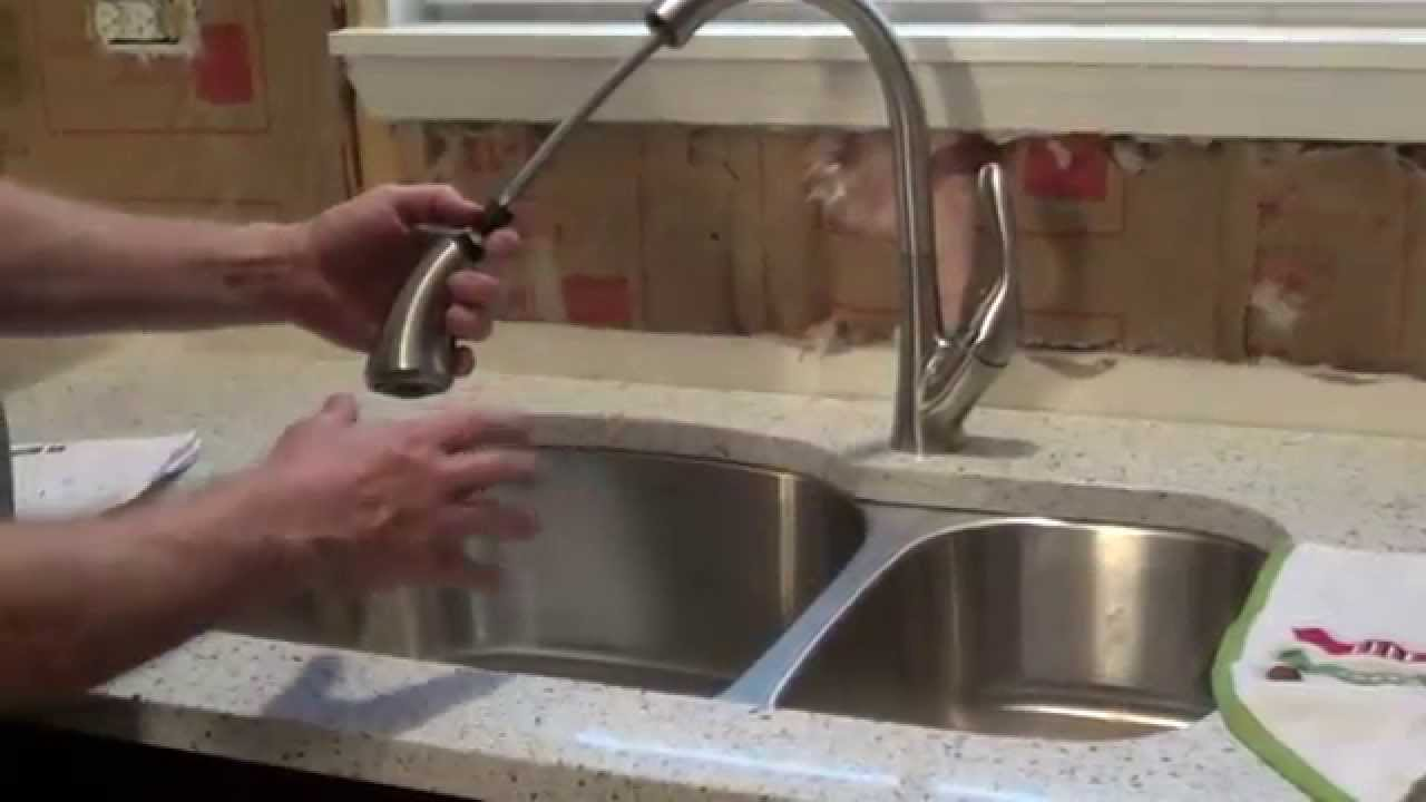 How to Install a Delta Ashton Faucet  YouTube