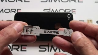 iPhone 4S Dual SIM - How to convert single SIM iPhone 4S into Dual SIM with SIMore WX-Twin 4-4S