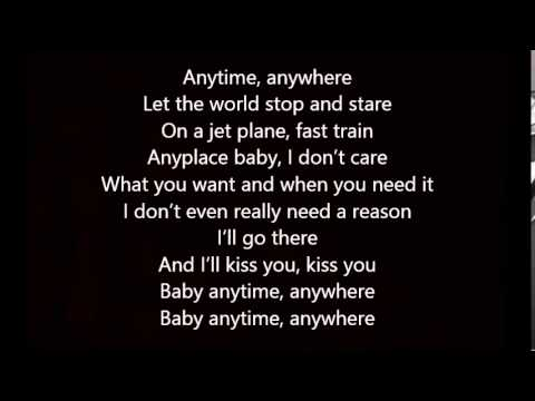 Kim Wilde - Any place Any where Any time Lyrics