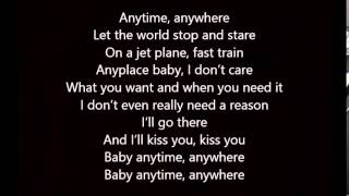 Love and Theft   Anytime, Anywhere with lyrics