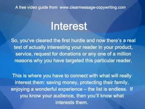Sales Letters - A free video guide showing how to write great Sales Letters