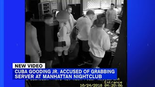 Cuba Gooding  Jr. video shows alleged touching of NYC server