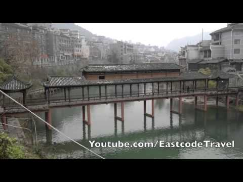 the other side of Fenghuang City Hunan China