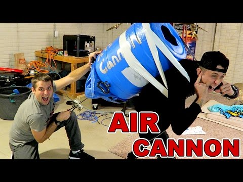 Crazy New Years Cannon!
