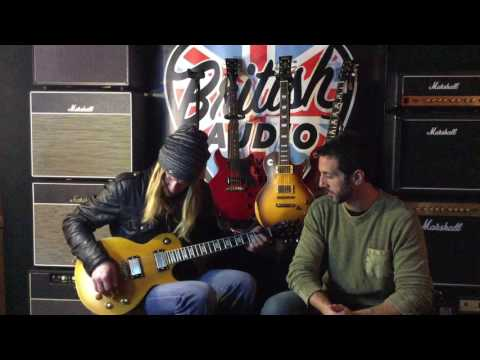 Vintage® Guitars UK Demo ft. Philip Shouse | British Audio