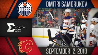 Dmitri Samorukov | One Assist vs Calgary | Sep. 12, 2018