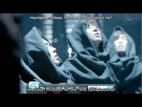 (MV) EXO-K-MAMA (Korean ver.) (english sub+romanization+hangul)