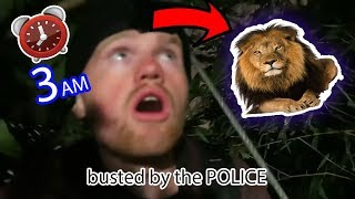 SNEAKING INTO LONDON ZOO *BUSTED*