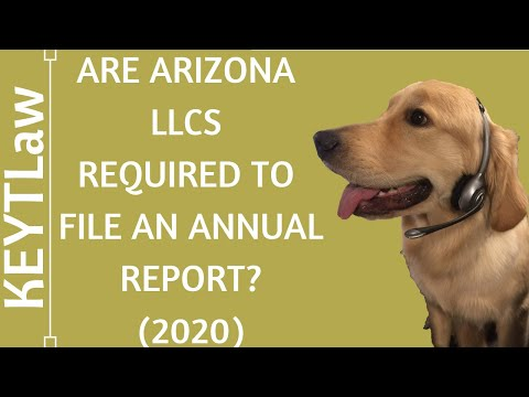 81498d779b7 Are Arizona LLCs Required to File an Annual Report with the State of  Arizona in 2018  - Duration  2 21.