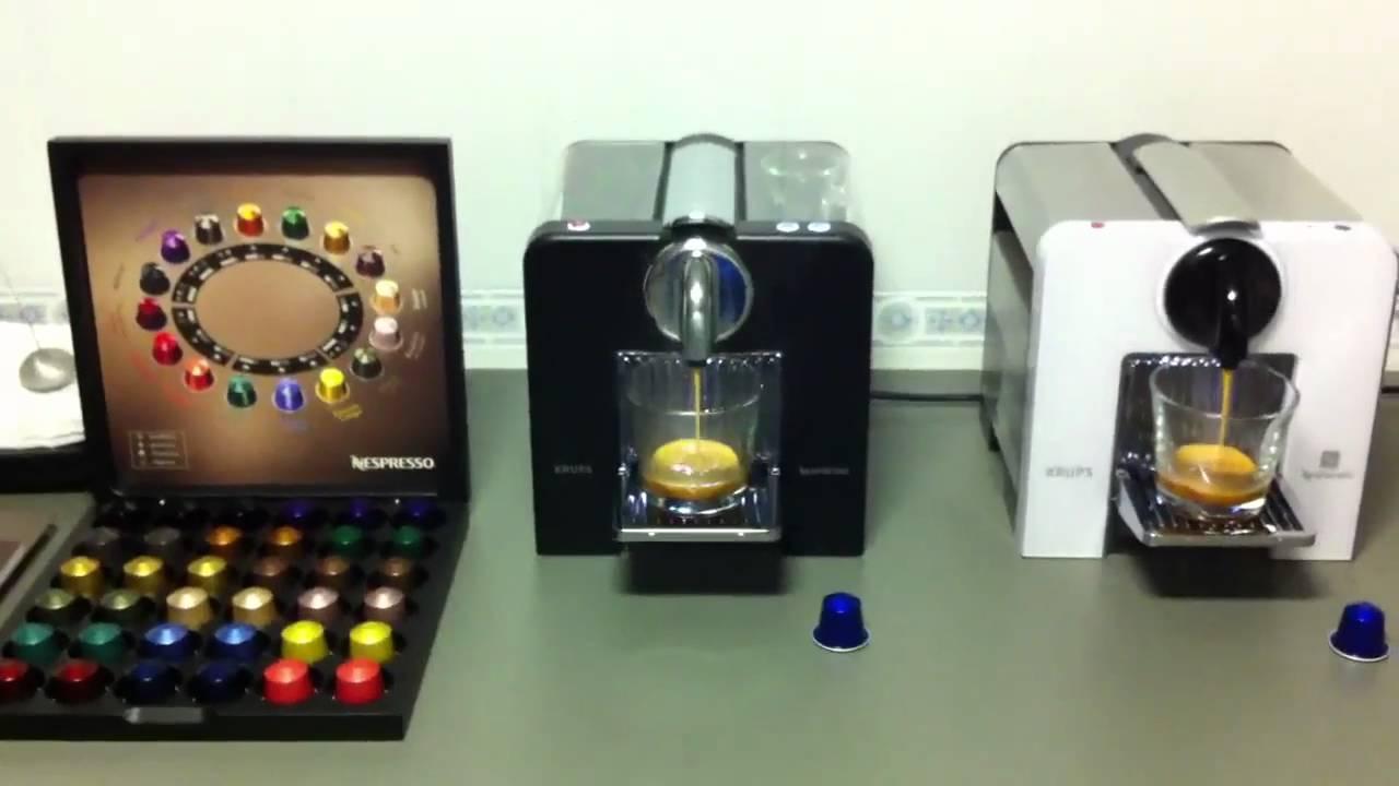 Krups Le Cube Nespresso Youtube