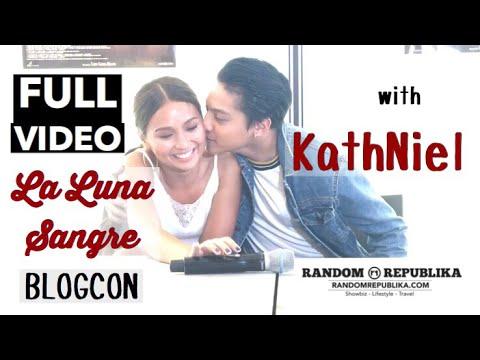 KathNiel at La Luna Sangre Blogcon FULL VIDEO | Kathryn Bernardo and Daniel Padilla