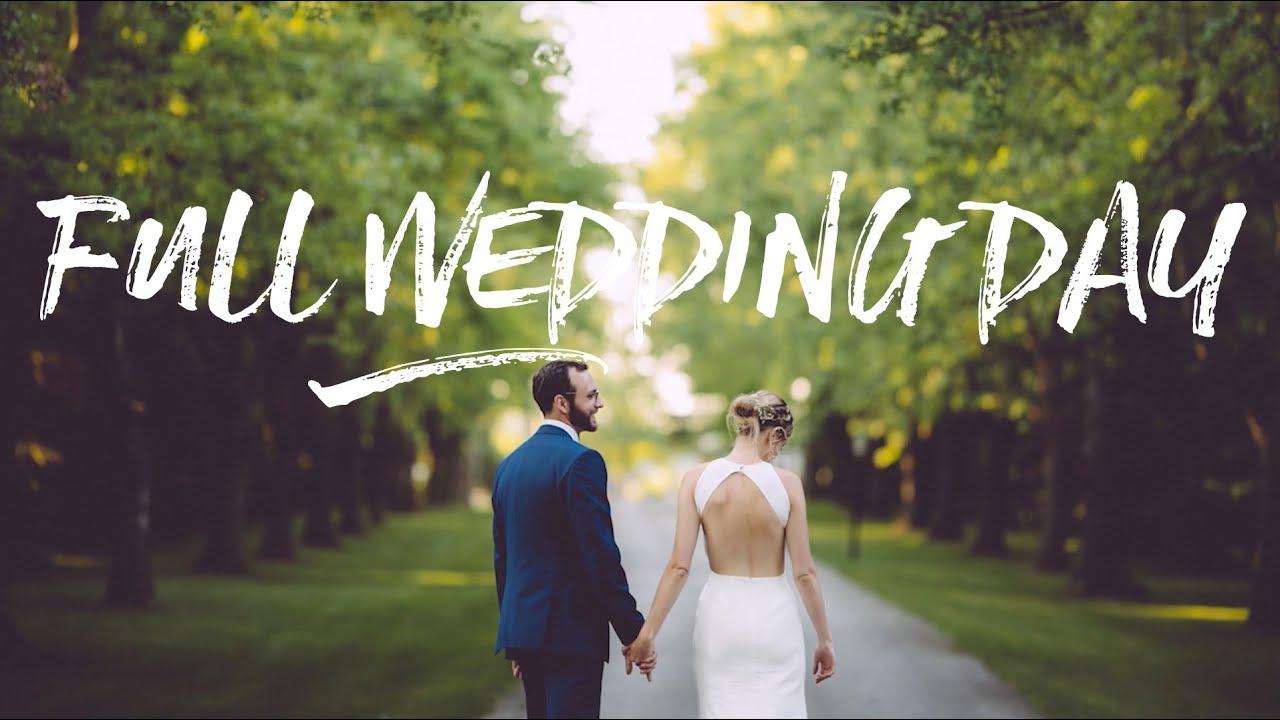 ed5344c5c39 Wedding Photography - Full Wedding Behind The Scenes - YouTube
