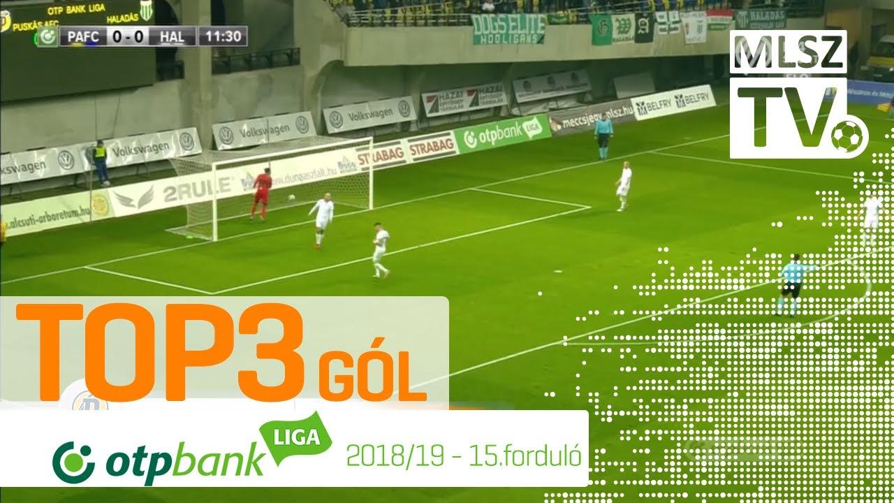 TOP 3 GÓL – 15. forduló | OTP Bank Liga | 2018/2019