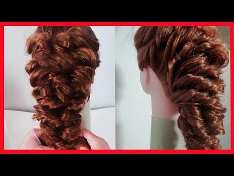 ЛЕГКАЯ И ОБЪЕМНАЯ ПРИЧЕСКА НА ДЛИННЫЕ ВОЛОСЫ | Hairstyles For Long Hair Videos