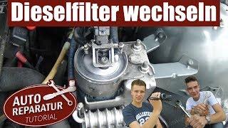 Kraftstofffilter wechseln |  Dieselfilter erneuern BMW | Auto Tutorial