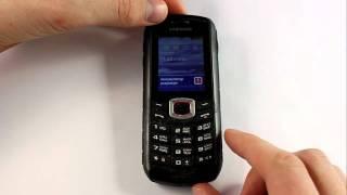 Samsung B2710 Xcover. Тест на пониженную температуру