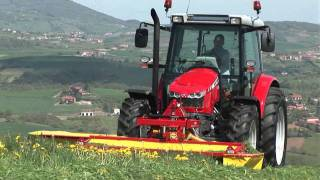 Nowe ciagniki traktory Massey Ferguson 5400 Dyna4 The New Massey Ferguson 5400 Series MF 5450