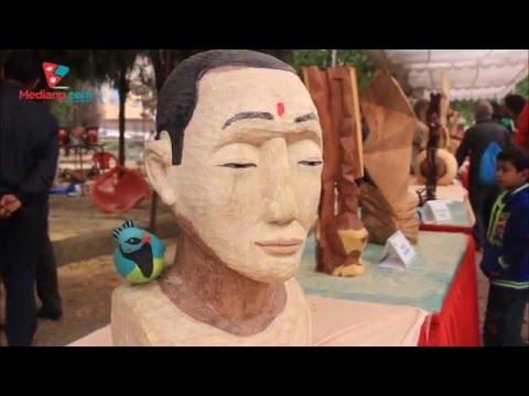 Wood art program in Pragya Bhawan, Kathmandu| Daily Exclusive News ( Media Np TV)
