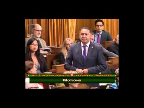 NDP MP Romeo Saganash's speech on missing and murdered aboriginal people's in Canada