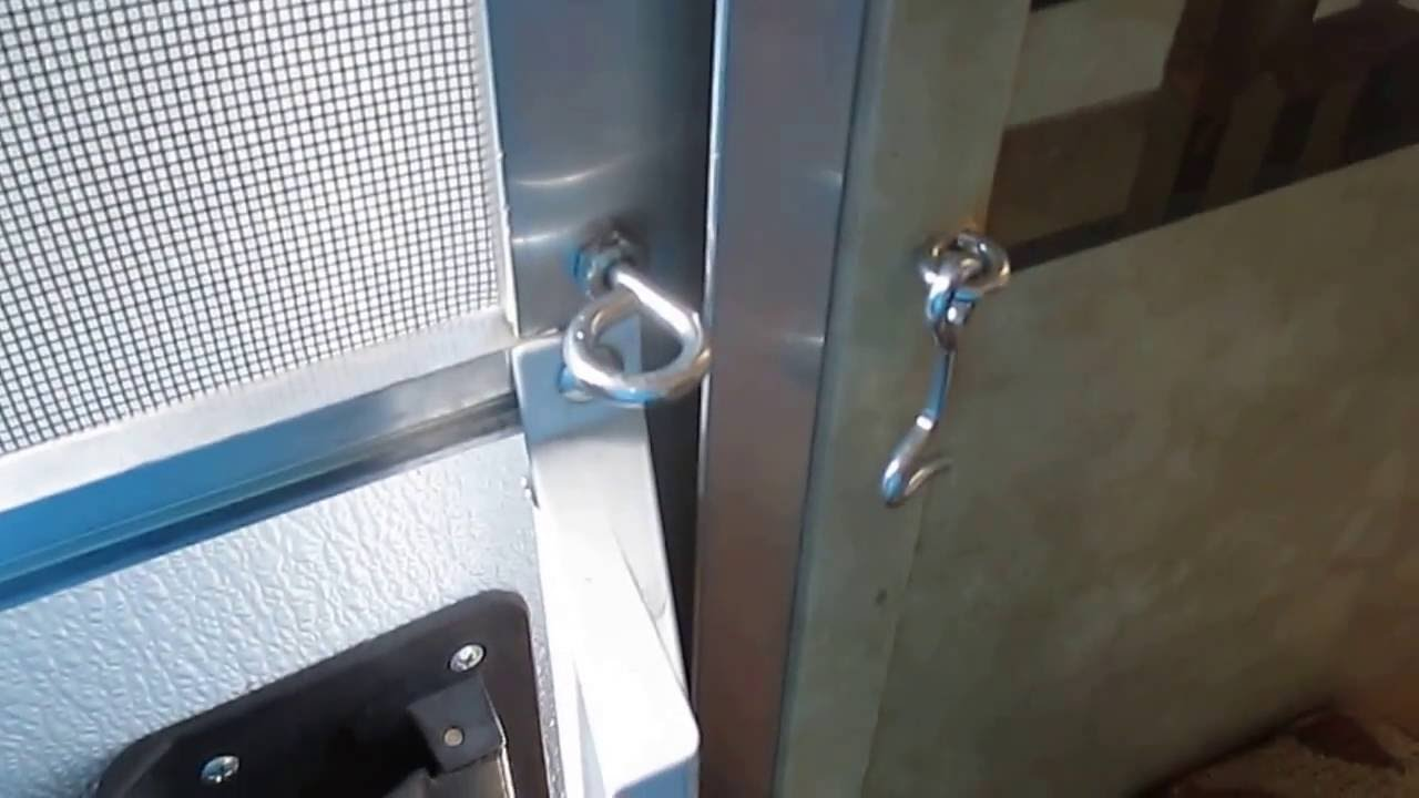 Rv Screen Door Fix Youtube