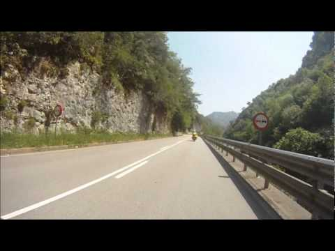 Ride Magazine and Alpine TT First Timer's Tour of Spain - Fast Road to Panes
