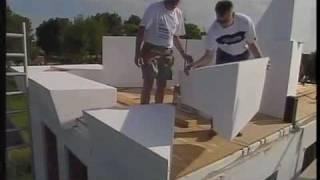 بناء منزل بوليسترين