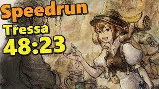 SPEEDRUN : Octopath Traveler Tressa Single Story