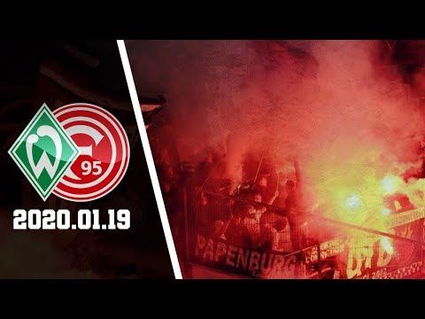 Pyro Werder-Ultras In Düsseldorf | Fortuna Düsseldorf - Werder Bremen 2020.01.19 | F95 - SVW 0:1