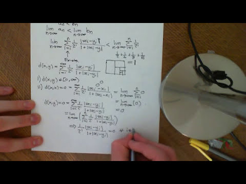 Introduction to sequence spaces Part 1