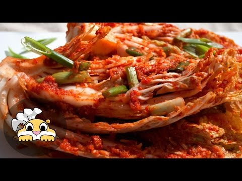 Kimchi Recipe: Authentic Korean Kimchi Recipe (김치)