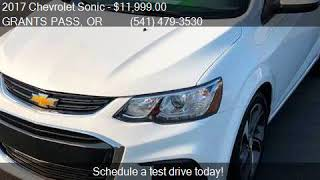 2017 Chevrolet Sonic Premier Auto 4dr Sedan for sale in GRAN