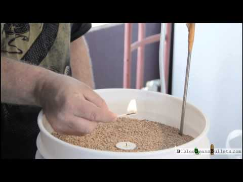 Preparedness: Nitrogen Packing Grains in Buckets and Barrels